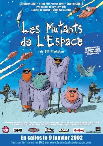 Les Mutants de l'Espace de Bill Plympton